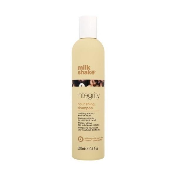 Sampon intens hidratant pentru toate tipurile de par - Nourishing Shampoo - Integrity - Milk Shake - 300 ml imagine