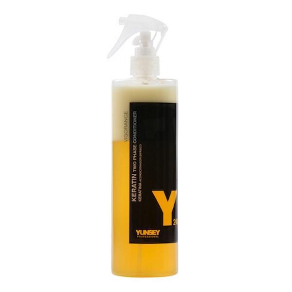 Balsam de Par in Doua Faze - Yunsey Professional Keratin 24K Two Phase Conditioner, 500 ml imagine