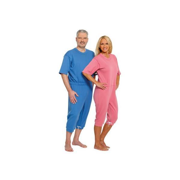 Pijama cu maneca scurta Suprima Albastru Mar L