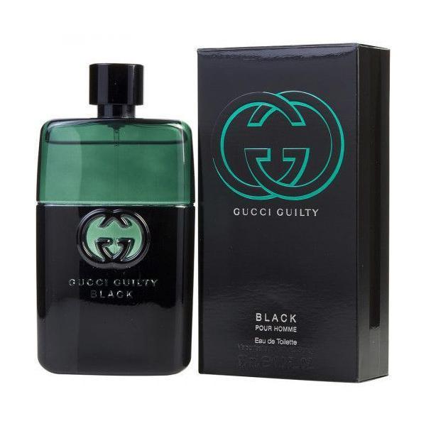Apa de Toatela Gucci Guilty Black, Barbati, 90 ml imagine