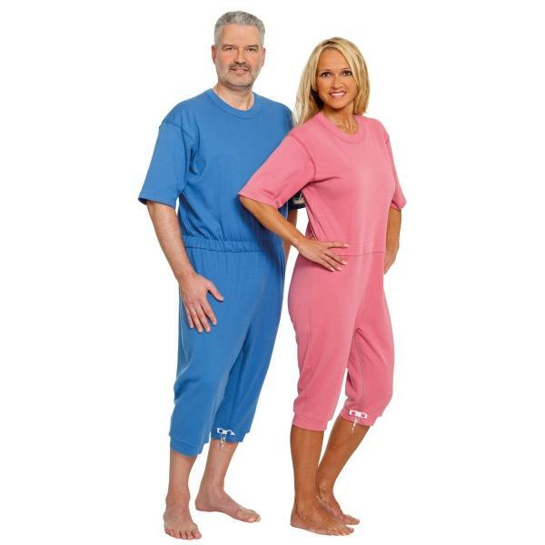 Pijama cu maneca scurta Suprima Roz-pudrat Mar XL