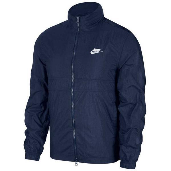 Jacheta barbati Nike Sportswear Woven Track CU4309-410, XS, Albastru