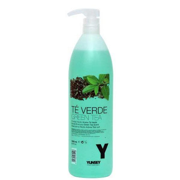 Sampon Neutru cu Ceai Verde - Yunsey Professional Neutral Shampoo Green Tea, 1000 ml imagine