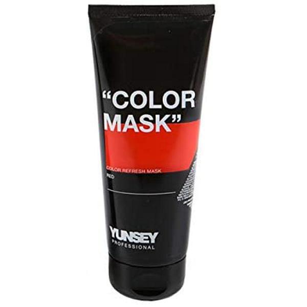 Masca Coloranta Rosu - Yunsey Professional Color Mask Red, 200 ml imagine