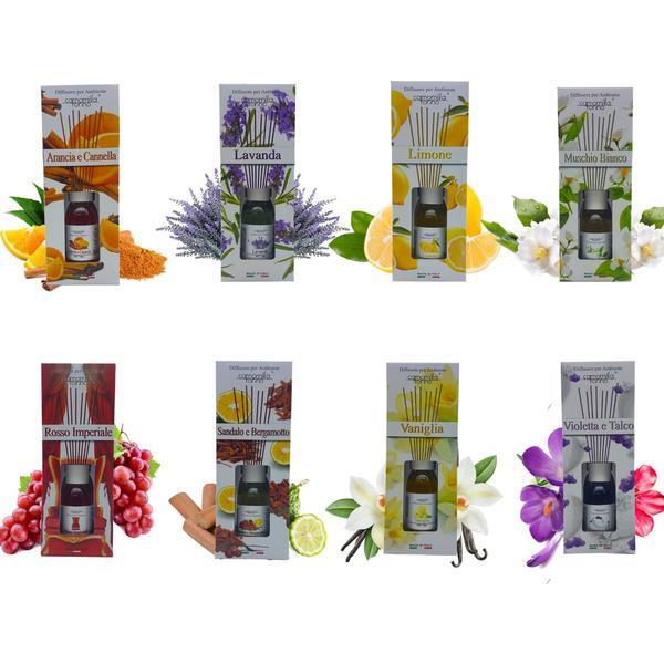 Set 8 bucati Difuzori Parfum , 125 ml imagine produs