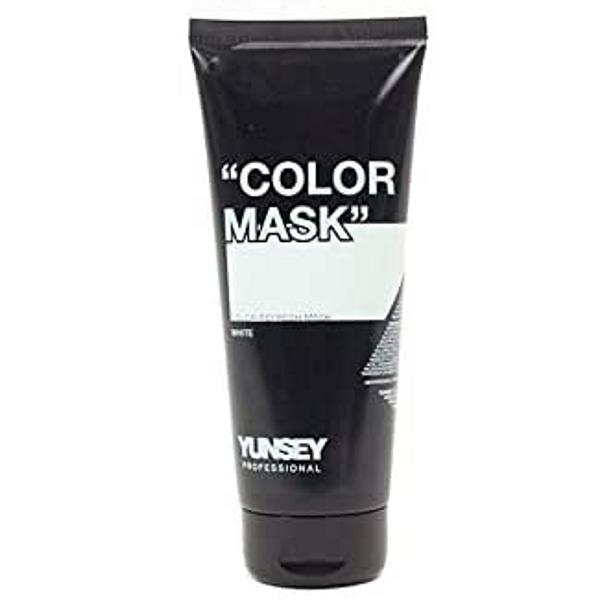 Masca Coloranta Alb - Yunsey Professional Color Mask White, 200 ml imagine