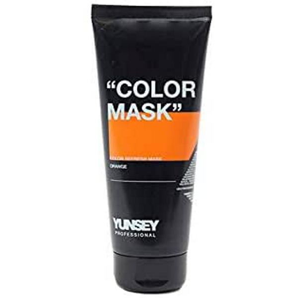 Masca Coloranta Portocaliu - Yunsey Professional Color Mask Orange, 200 ml imagine