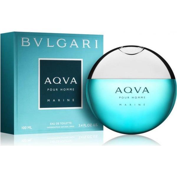 Apa de Toaleta Bvlgari, Aqva pour Homme Marine, Barbati, 100 ml imagine produs