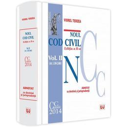 Noul Cod civil vol. I (art. 1-1.163) adnotat cu doctrina si jurisprudenta ed. 2 - Viorel Terzea, editura Universul Juridic