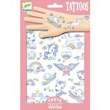 Unicorns Glitter Tattoos. Tatuaje cu unicorni