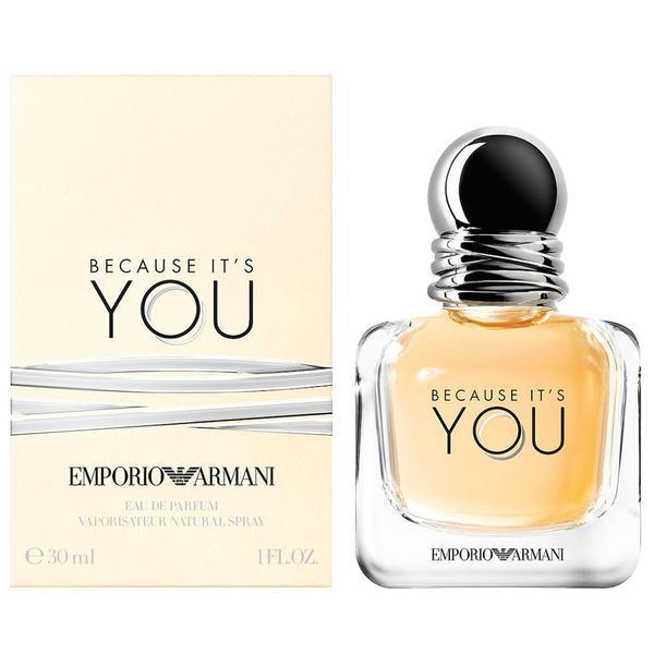 Apa de Parfum Emporio Armani Because It`s You, Femei, 100 ml imagine produs