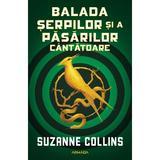Balada șerpilor și a păsărilor cântătoare autor Suzanne Collins, editura Armada