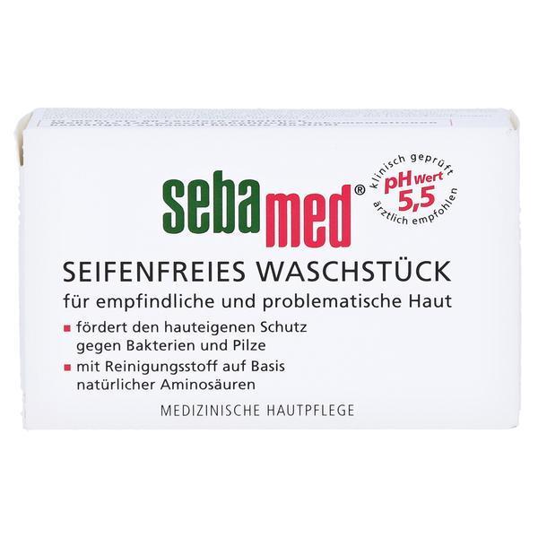 Calup dermatologic pentru curatare fina fara sapun, Sebamed 100g imagine produs