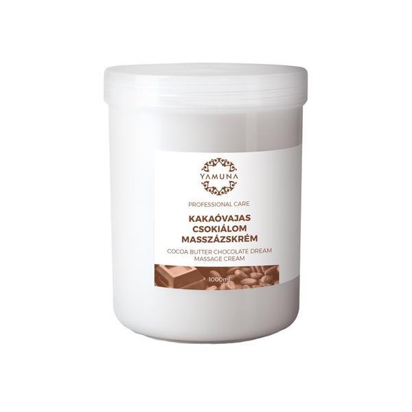 Crema de Masaj Anticelulitic cu Ciocolata Yamuna, 1000ml imagine produs