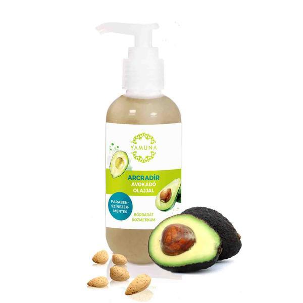 Exfoliant-Scrub Facial cu Avocado Yamuna, 250ml imagine produs