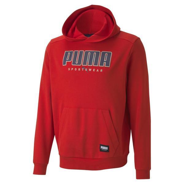 Hanorac barbati Puma Athletics FL 58345611, M, Rosu