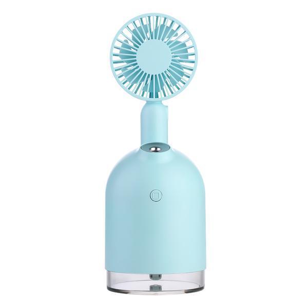 Umidificator de aer Ultrasonic@Mini fan, incarcare USB, 300ml, ventilator de mana cu baterie reincarcabila 2000mah