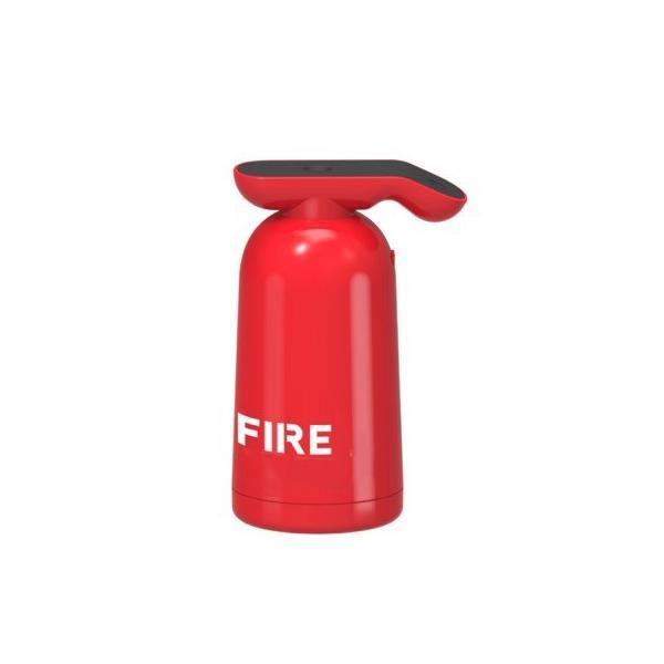 Umidificator de aer Ultrasonic Fire, 200ml, touch control, decor, masina, office, casa, incarcare USB, rosu