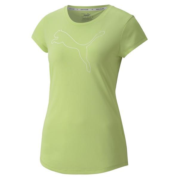 Tricou femei Puma Active Logo Heather 85187396, S, Verde