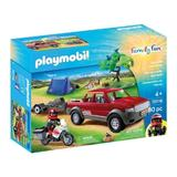Playmobil Family Set camping