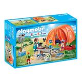 Playmobil Family Fun Cort camping