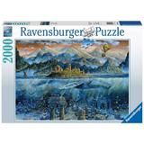 Puzzle adulti Balena fantastica 2000 piese Ravensburger