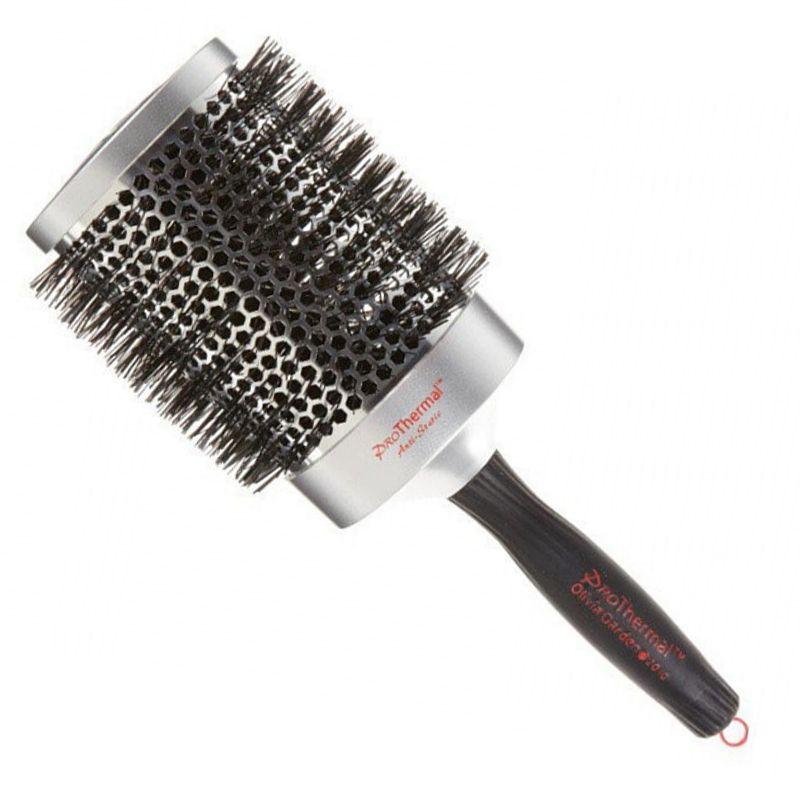 Perie Antistatica Rotunda Termica - Olivia Garden Pro Thermal Hairbrush T83 imagine produs