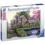 Puzzle copii si adulti Cabana 1000 piese Ravensburger