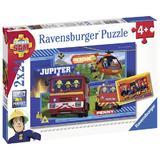 Puzzle echipa pompieri 2x24 Ravensburger