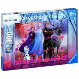 Puzzle Frozen II 100 piese Ravensburger