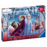 Puzzle frozen II 2x12 piese Ravensburger