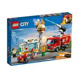 Lego City - Stingerea incendiului de la Burger Bar