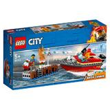 Lego City - Incendiul de la docuri