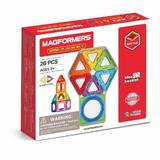 Set constructie magnetic Magformers Basic Plus 26 piese Clics Toys