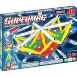 Set constructie magnetic 98 piese Classic Primary Supermag