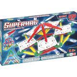 Set constructie magnetic 120 piese Classic Primary Supermag