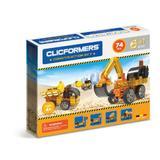 Set constructie Clicformers Santier 74 piese Clics Toys