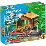 Playmobil Wild Life Casuta de pe lac