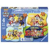 Puzzle Paw Patrol 4/6/8/10 piese Ravensburger
