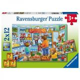 Puzzle magazin alimentar 2x12 piese Ravensburger