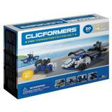 Set constructie Clicformers Mini Transporter 30 piese Clics Toys
