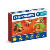 Set constructie Clicformers Basic 50 piese Clics Toys