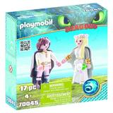 Playmobil Dragons Cuplul Hiccup si Astrid