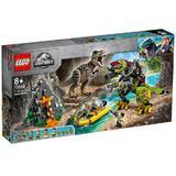 Lego Jurassic World - Lupta T rex contra Dino Mech