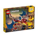 Lego Creator - Dragon de foc
