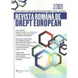 Revista romana de drept european Nr.2/2020, editura Wolters Kluwer