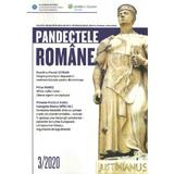 Pandectele romane Nr.3/2020, editura Wolters Kluwer