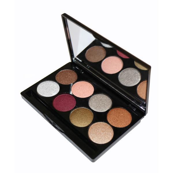 Trusa Farduri 8 culori metalice, Pastel Metallic Glow Eyeshadow imagine produs
