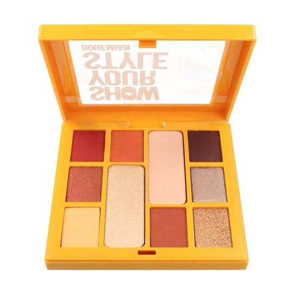 Trusa farduri 10 culori mate si perlate, Pastel Show Your Style 461 Bohemian imagine produs