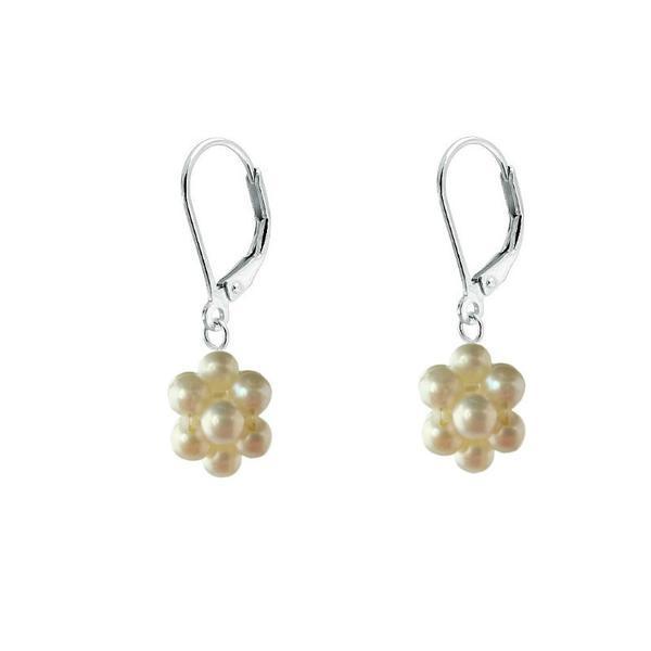 Cercei Argint Bulgarasi Mici Perle Naturale Albe – Cadouri si perle